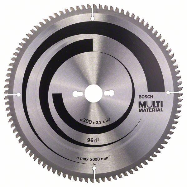 Sagblad for tre Bosch MULTI MATERIAL Ø300 mm