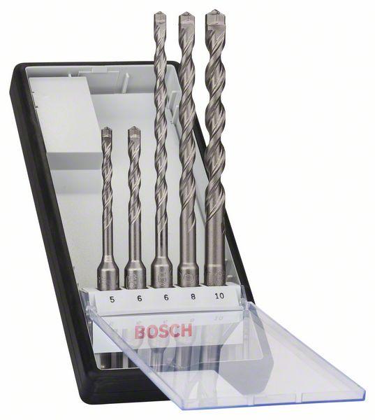 Borsett for betong Bosch SDS-Plus-7 5-10 mm SDS-plus 5 stk