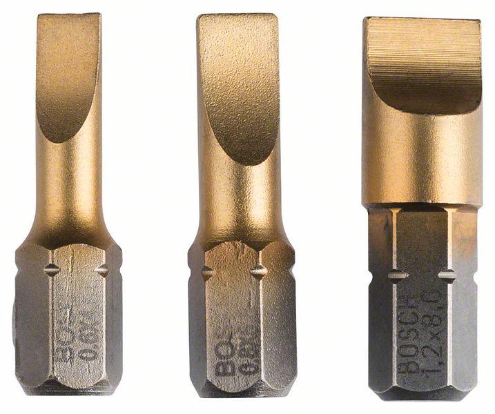 Bitssett Bosch Grip S 3 stk
