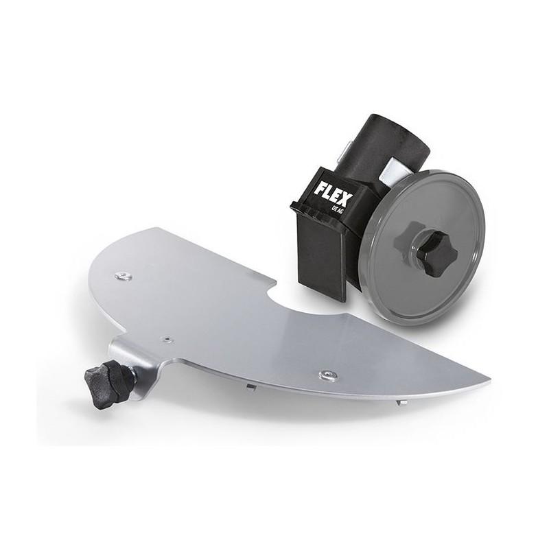 Splintbeskyttelse og avsugskapper til vinkelslipere Flex AG D230 Set