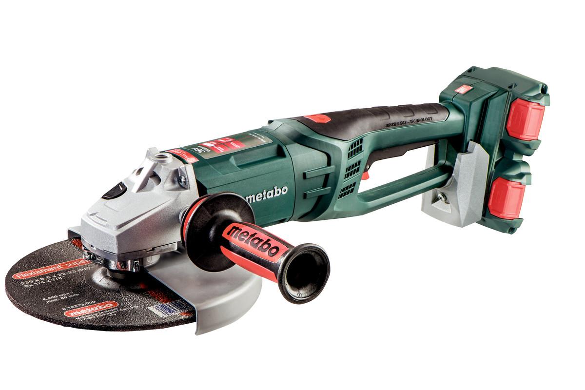 Vinkelsliper Metabo WPB 36-18 LTX BL 230 18 V (uten batteri og lader)