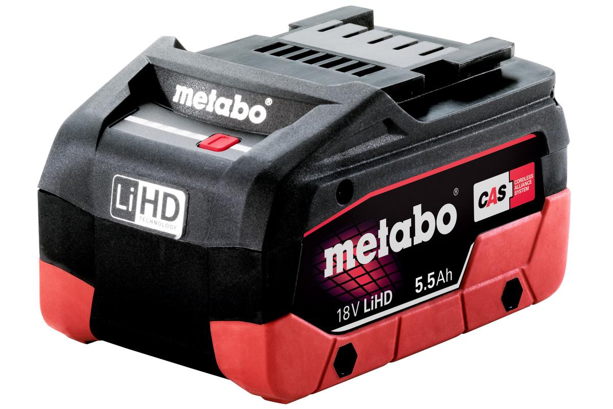 Batteri Metabo LIHD 18 V 5,5 Ah