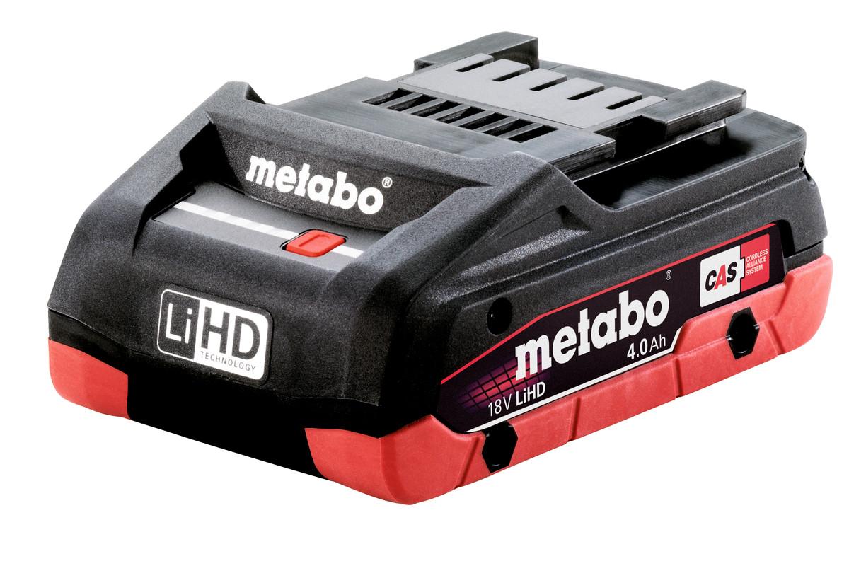 Batteri Metabo LIHD 18 V 4,0 Ah