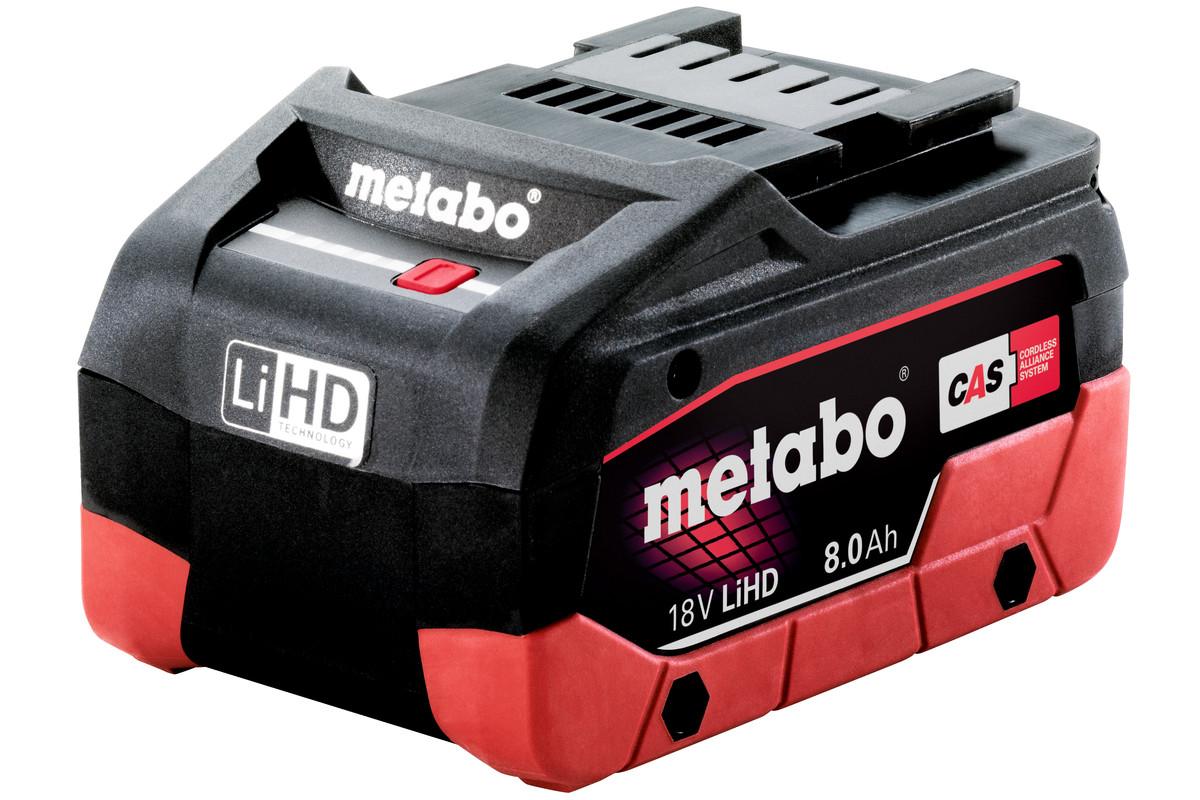 Batteri Metabo 18 V 8,0 Ah LiHD
