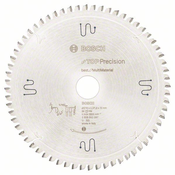Sagblad for metall Bosch Ø216 mm