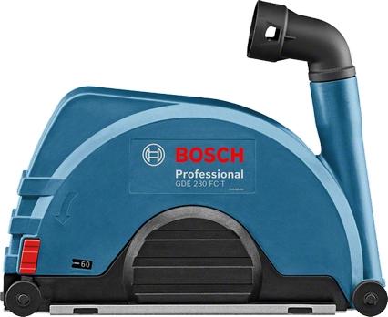 Splintbeskyttelse og avsugskapper til vinkelslipere Bosch GDE 230 FC-T