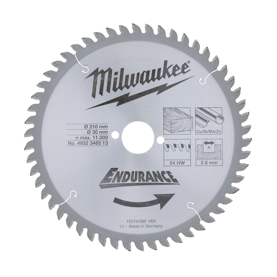 Sagblad for tre Milwaukee 4932352840 216 mm