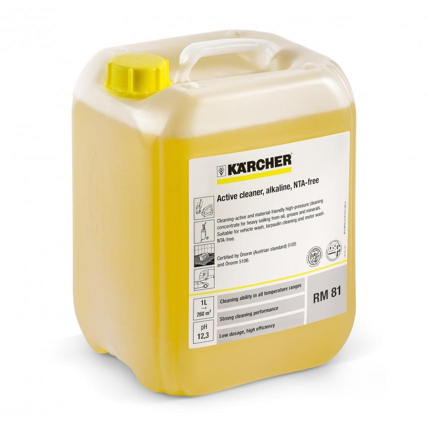 Rengjøringsmiddel med alkalisk konsentrat Karcher RM 81 ASF 10 l