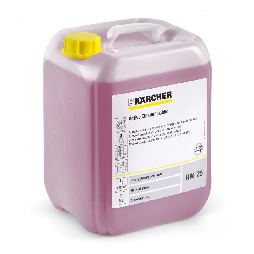 Rengjøringsmiddel med syre Karcher RM 25 ASF 10 l