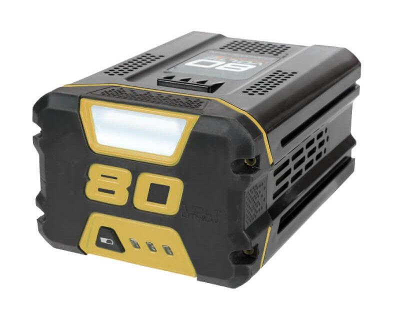 Batteri til pleklipper Stiga SBT 5080 AE 80 V 5,0 Ah Li-ion