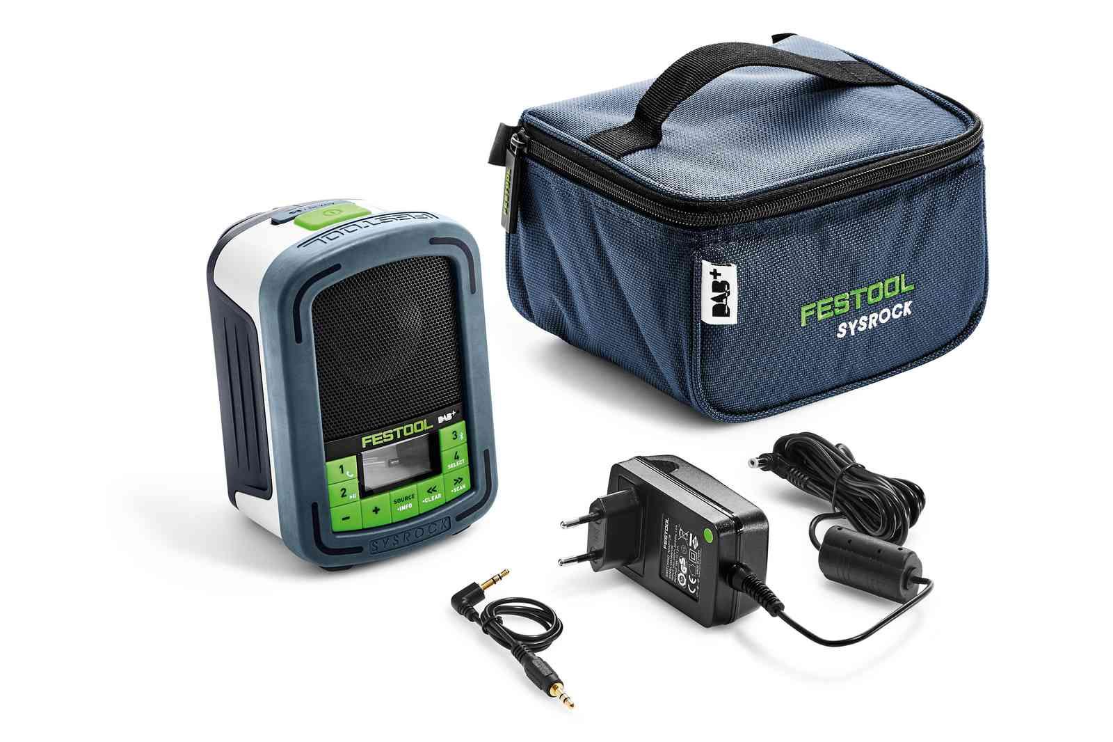 Radio Festool BR 10 DAB + 10,8-18 V (uten batteri og lader)