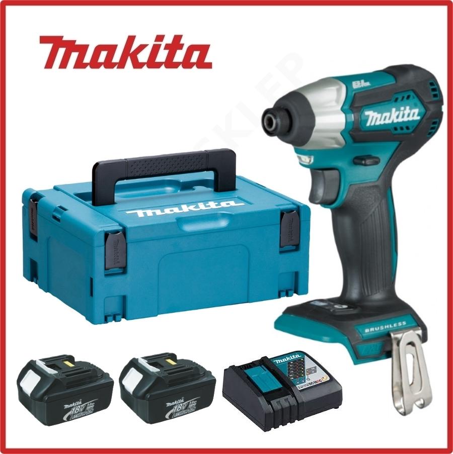 Slagskrutrekker Makita DTD155RFJ 18 V 2x3,0 Ah batt.