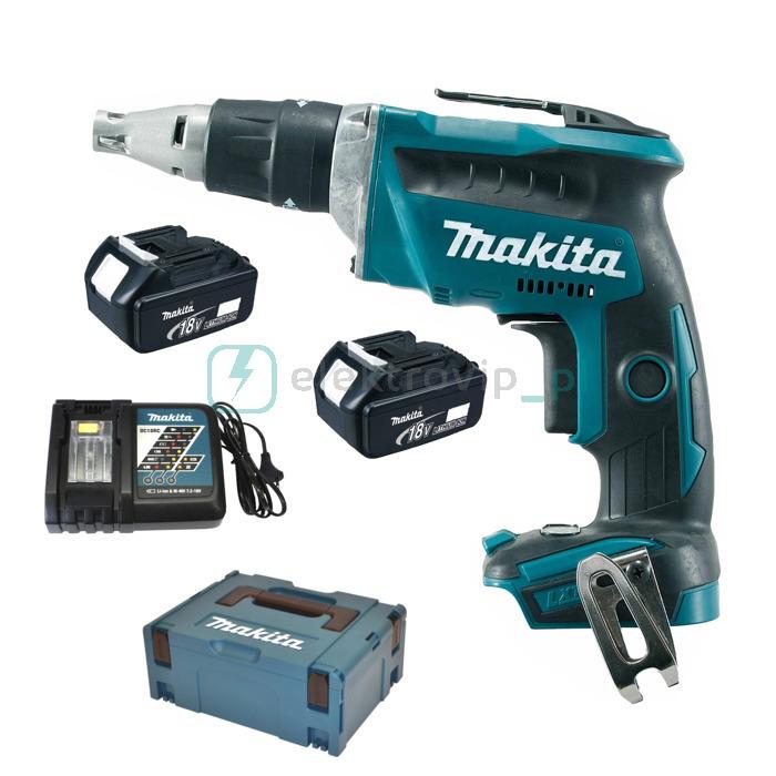 Skrutrekker Makita DFS452RFE 18 V 2x3,0 Ah batt.