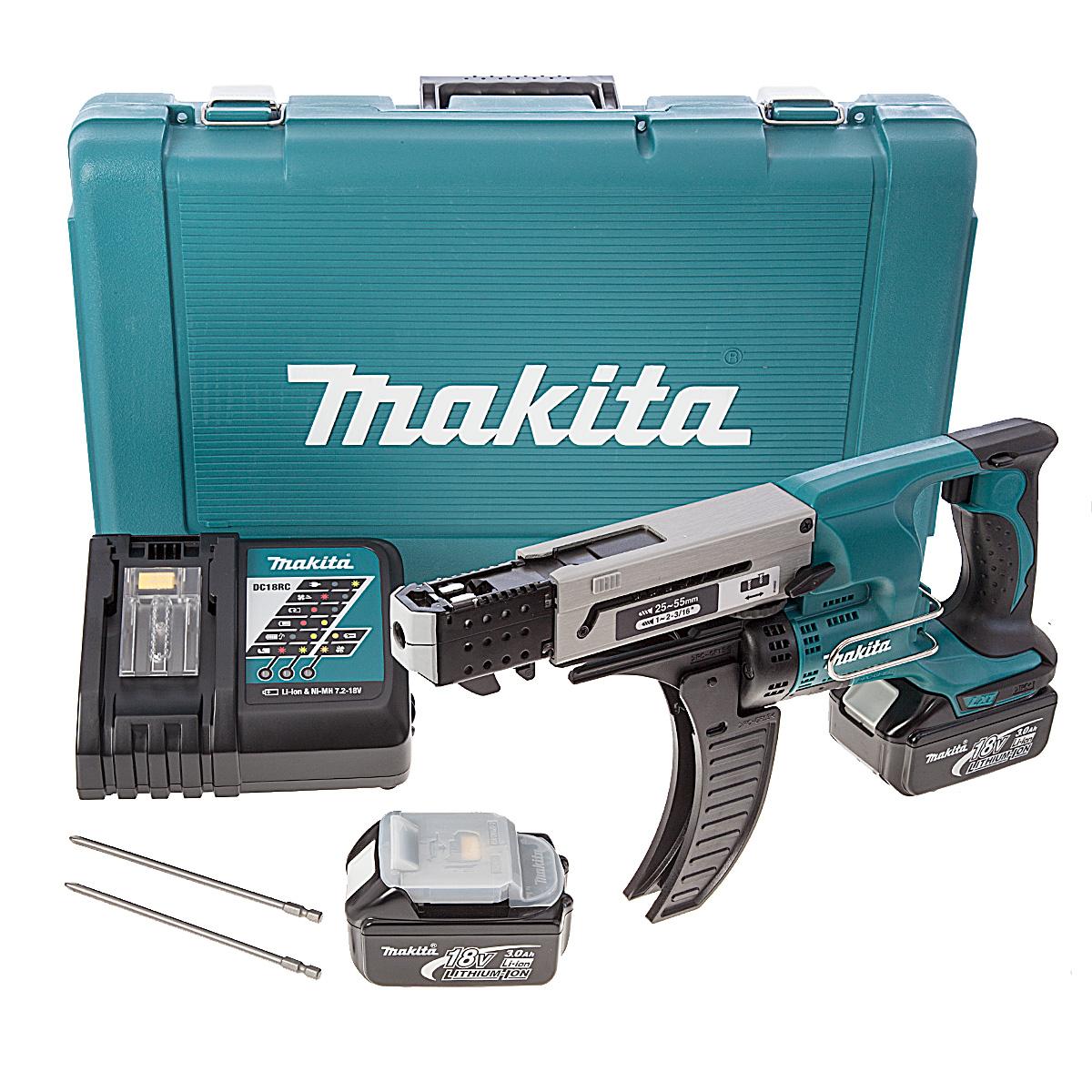 Skrutrekker Makita DFR550RFE 18 V 2x3,0 Ah batt.