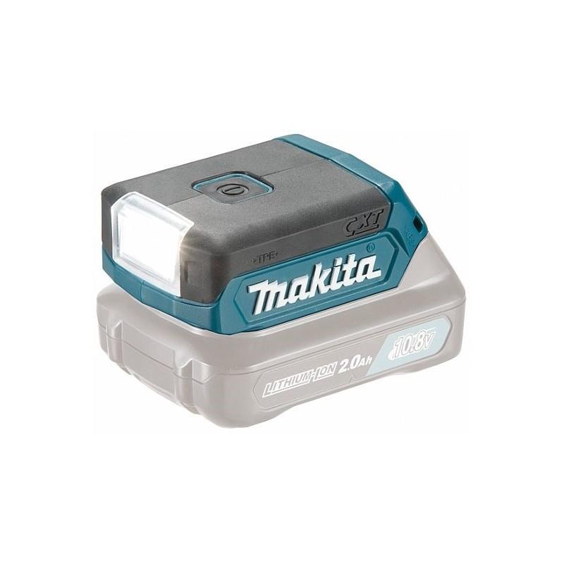Batteridrevet arbeidslampe Makita DEAML103 LED 10,8 V (uten batteri og lader)