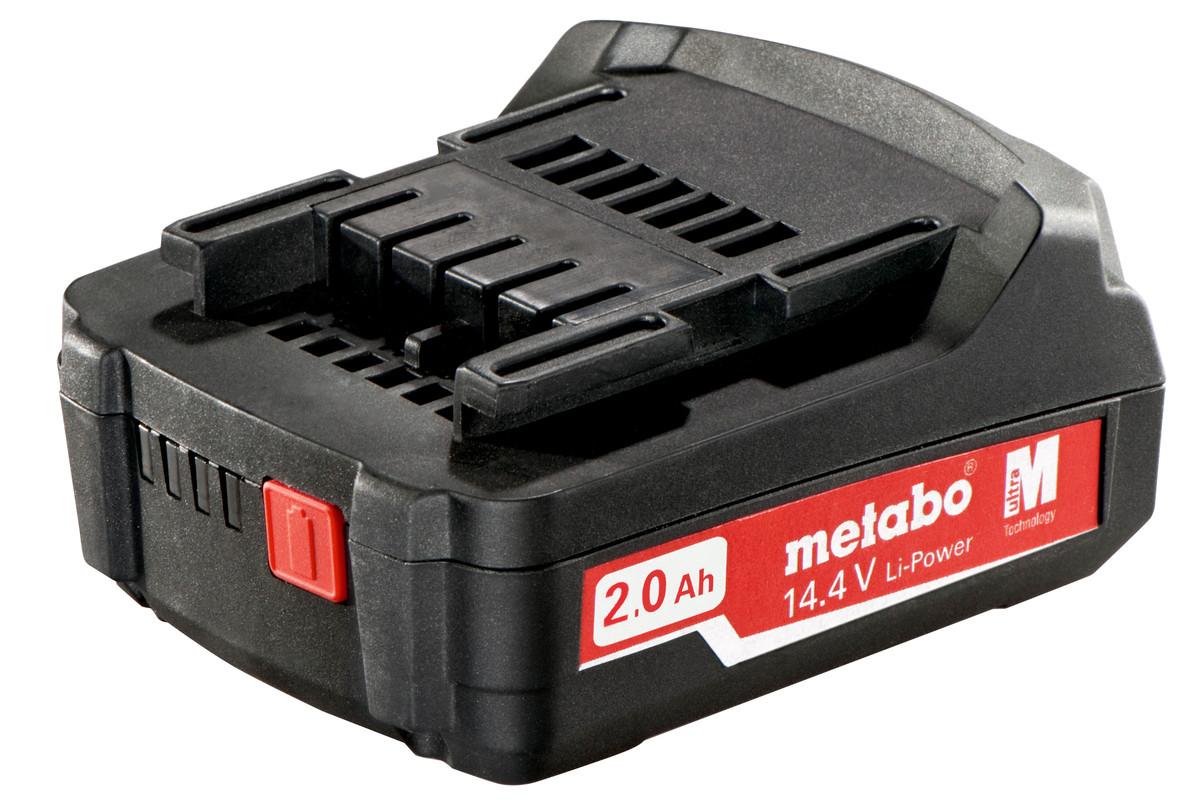 Batteri Metabo 14,4V 2,0 Ah Li-ion