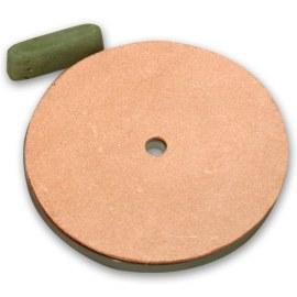 Slipestein i skinn Fox F23-200 200x12,5 mm