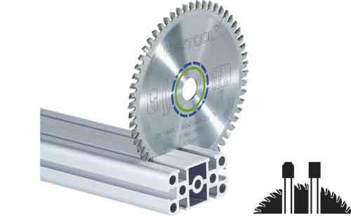 Sagblad for aluminium Festool Ø216 mm