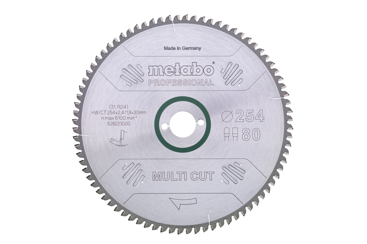 Sagblad for aluminium Metabo 216 mm
