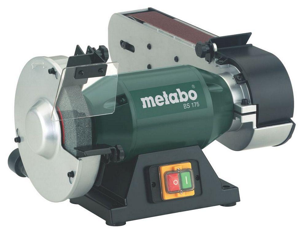 Benkslipemaskin med båndsliper Metabo BS 175
