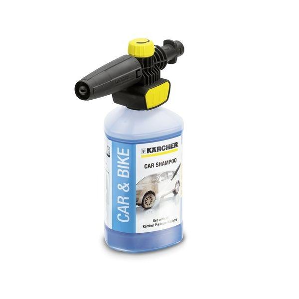 Skumdyse Karcher Connect 'n'Clean FJ 10 C + bilvaskemiddel Karcher 1 l