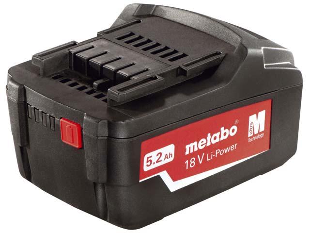 Batteri Metabo 18V 5,2 Ah Li-ion