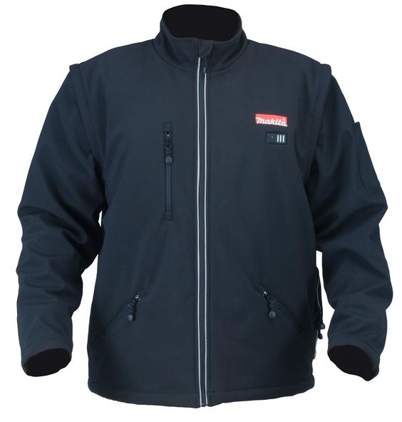 Oppvarmet jakke Makita 18 V L (uten batteri og lader)