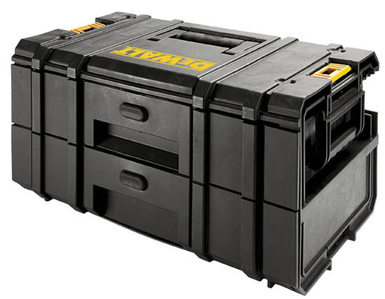 Verktøykasse DeWalt Toughsystem DS250 Med 2 skuffer