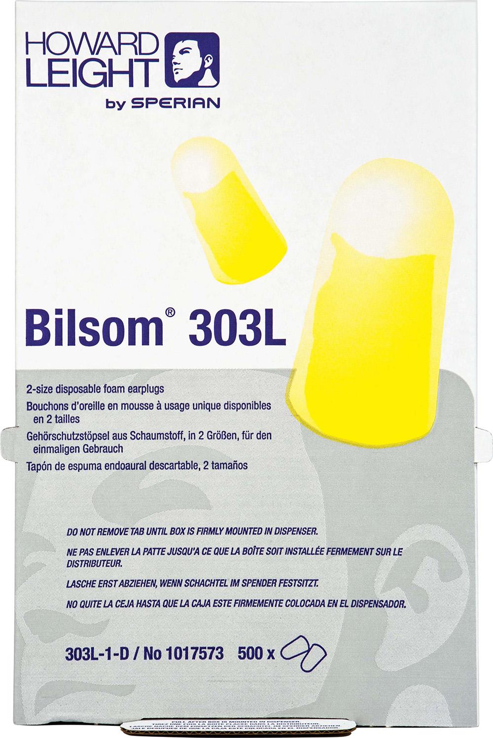 Ørepropper HONEYWELL BILSOM 303L 500 stk
