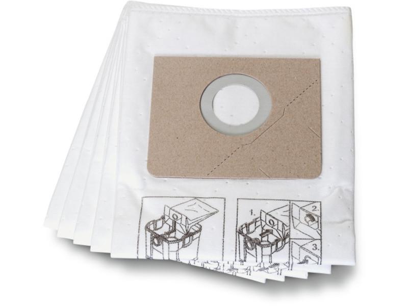 Tekstil støvposer Fein, tinka Dustex 25 L, 5 stk