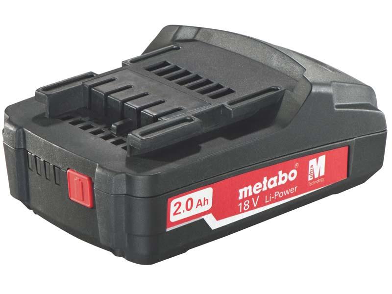 Batteri Metabo Compact 18 V 2,0 Ah
