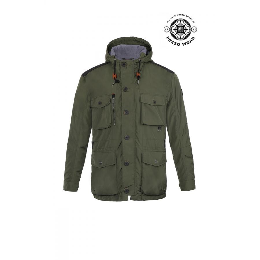 Lett, pustende jakke PESSO MILANO S grønn