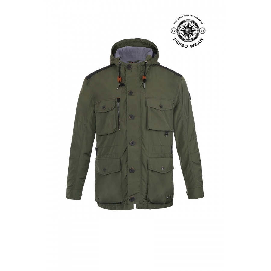 Lett, pustende jakke PESSO MILANO XL grønn