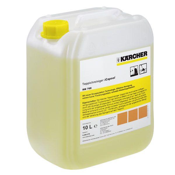 Rengjøringsmiddel for matter iCapsol RM 768 10 l