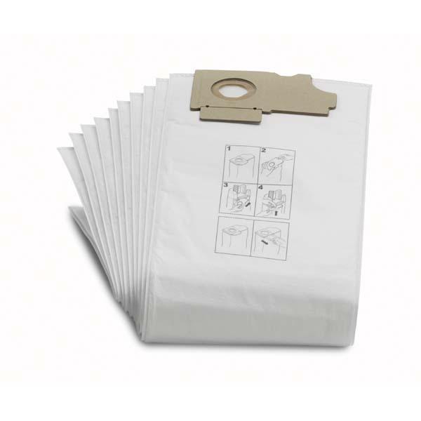 Tekstil støvposer Karcher CV 36/2 CV 46/2 CW 50 CW 100 10 stk
