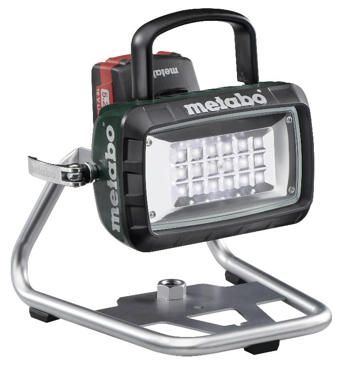 Batteridrevet arbeidslampe Metabo BSA LED 14,4V/18V (uten batteri og lader)