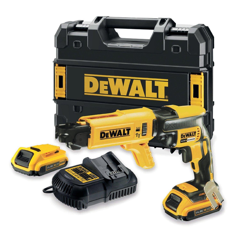Skruautomat DeWalt DCF621D2K 14,4 V 2x2,0 Ah batt.