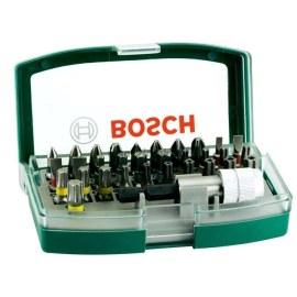 Skrutrekkersett Bosch Promoline Colored; 32 stk