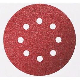 Sandpapir for eksenterslipere Expert for Wood; 125 mm; K80; 5 stk