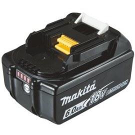 Batteri Makita BL1860B; 18 V; 6,0 Ah; Li-ion