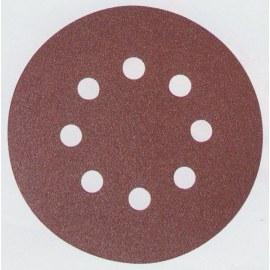 Sandpapir Velcro Backed 125 mm; K80; 10 stk