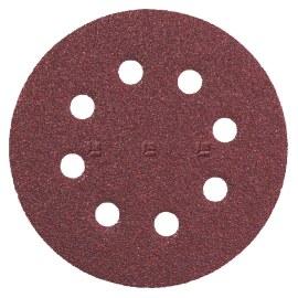 Sandpapir for eksenterslipere Metabo; 125 mm; K80; 25 stk