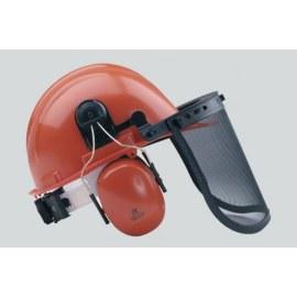 Vernehjelm 6-888 med beskyttelsesskjerm og hørselvern