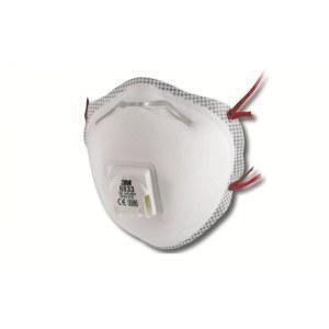 Støvmaske med ventil 3M 8833; FFP3