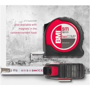 Målerulle BMI twoCOMP B472841021M; 8 m