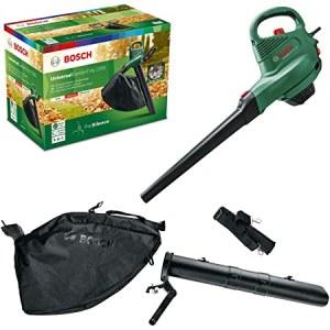 Løvblåser/-suger, elektrisk Bosch GardenTidy 2300