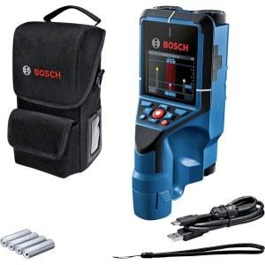 Metall- og tredetektor Bosch D-Tect 200 C; 1,5 V; 4xAA