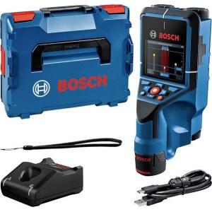 Metall- og tredetektor Bosch D-Tect 200 C; 12 V; 1x2,0 Ah batt.