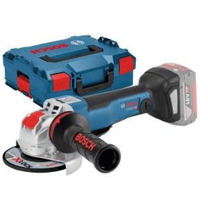 Vinkelsliper Bosch GWX 18V-10 PC SOLO X-Lock; 18 V (uten batteri og lader)