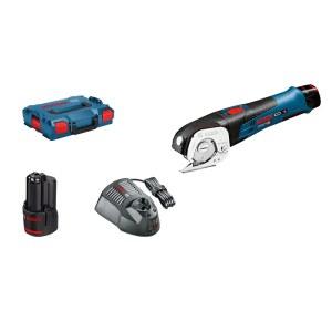 Batteridrevet universalsaks Bosch GUS 12V-300; 12 V; 2x2,0 Ah batt.